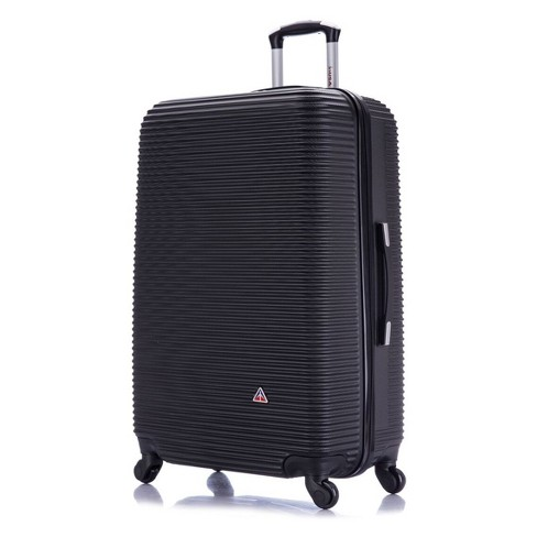 "InUSA Royal 28"" Hardside Spinner Suitcase - Black - image 1 of 5"