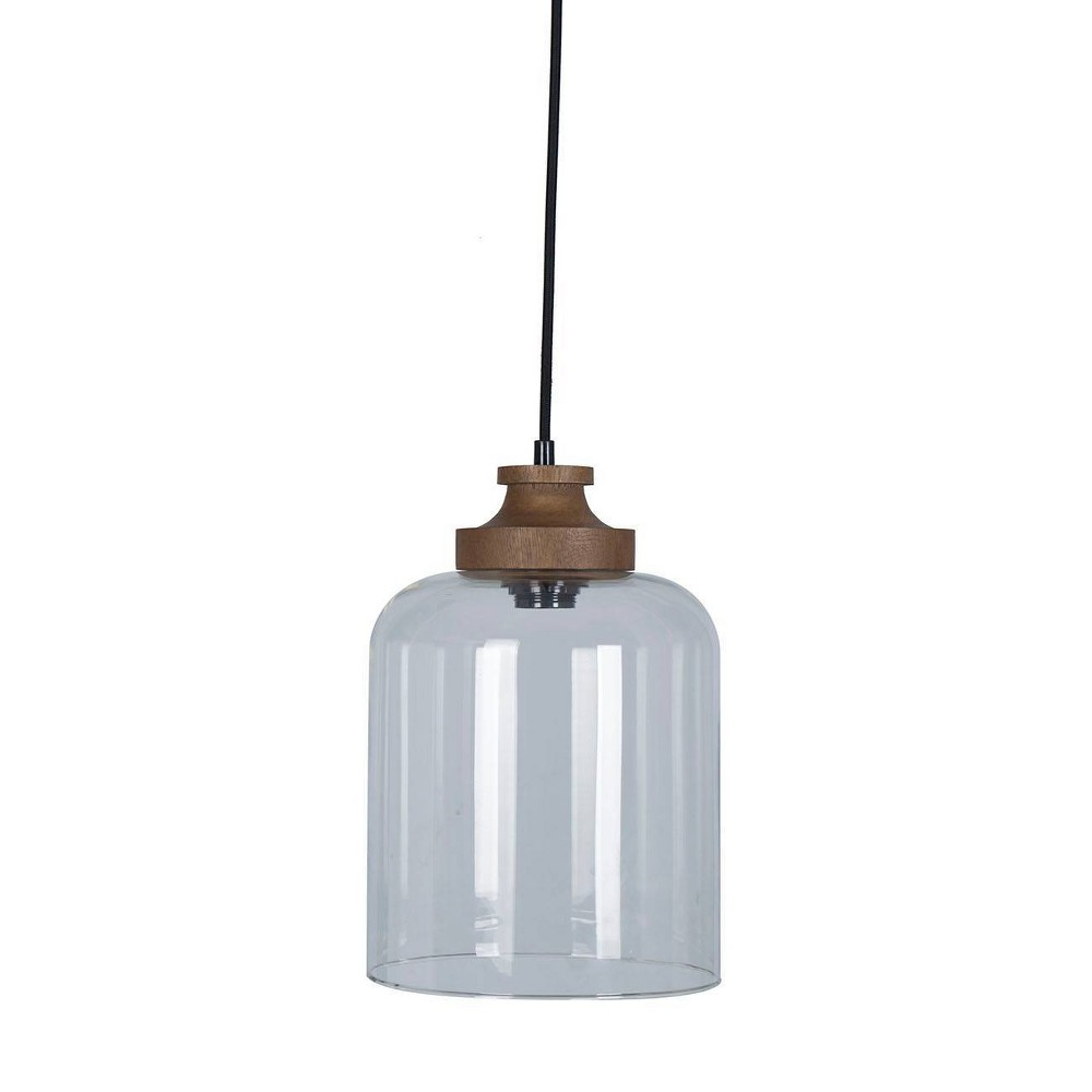 Image of Pendant Lamp Clear - Threshold , Brown Clear