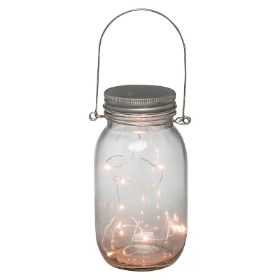 The Gerson Companies 6.9 H LED Battery Operated Lighted Mason Jar