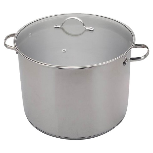 20 Quart Stainless Steel Stock Pot Room Essentials Target