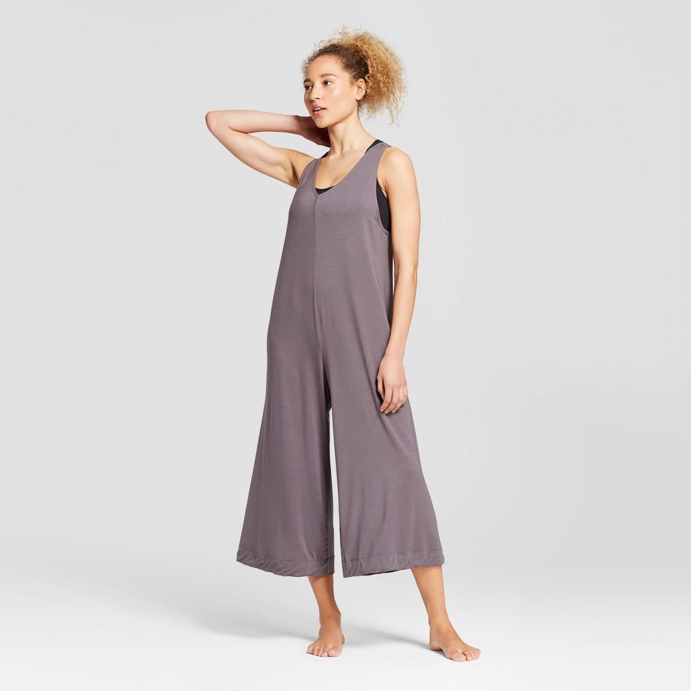 Women's Loose Yoga Jumpsuit - JoyLab Eiffel Tower Gray M