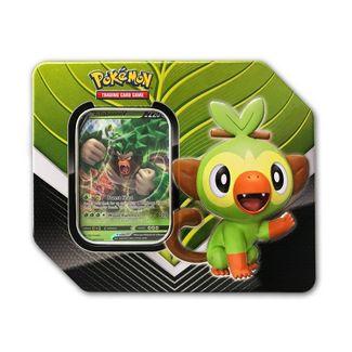 Pokemon Trading Card Game Galar Partners Tin Rillaboom V
