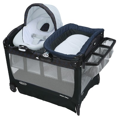 Graco Pack 'n Play Playard Snuggle Suite LX Bassinet Changer - Gilt