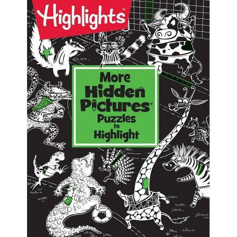 More Hidden Pictures(r) Puzzles to Highlight - (Paperback) - image 1 of 1