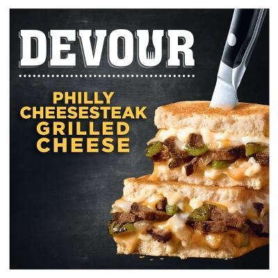 Devour Frozen Philly Cheesesteak Grilled Cheese - 7.51oz