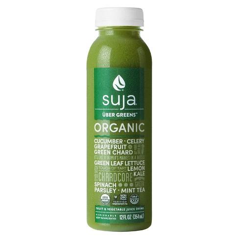 Suja Uber Greens Organic Vegan Fruit & Vegetable Juice Drink 12oz - image 1 of 2