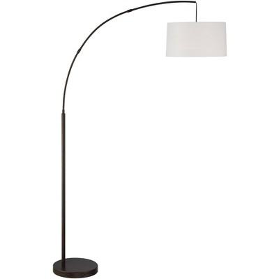 360 Lighting Cora Bronze Finish Metal Arc Floor Lamp