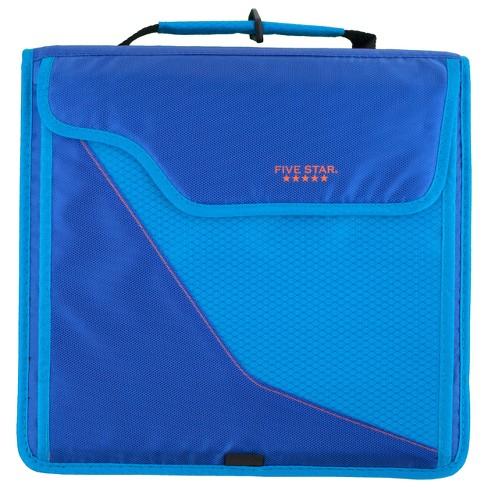 3 zipper binder 8 pockets and shoulder strap five star target