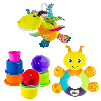 Lamaze Gift Set - Flip Flap Stack & Rattle