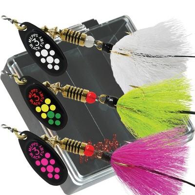 Mepps Bass Pocket Pac - #3 Black Fury Dressed