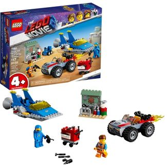 THE LEGO MOVIE 2 Emmet and Bennys Build and Fix Workshop 70821