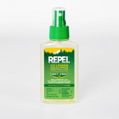 Repel Plant-Based Lemon Eucalyptus Insect Repellent Pump Spray 4 fl oz