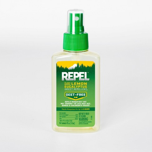 Repel Plant-Based Lemon Eucalyptus Insect Repellent Pump Spray 4 fl oz - image 1 of 4