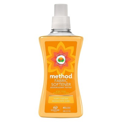 Method Ginger Mango Liquid Fabric Softener - 53.5 Fl Oz