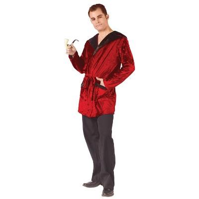 Adult Smoking Robe Velvet Halloween Costume Accessory One Size