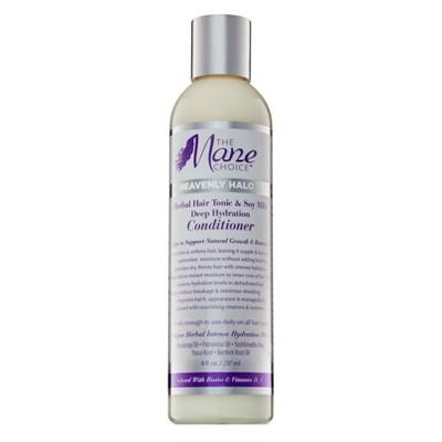 The Mane Choice Heavenly Halo Herbal Hair Tonic & Soy Milk Deep Hydration Conditioner - 8 fl oz