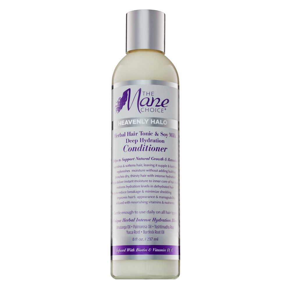 Image of The Mane Choice Heavenly Halo Herbal Hair Tonic & Soy Milk Deep Hydration Conditioner - 8 fl oz