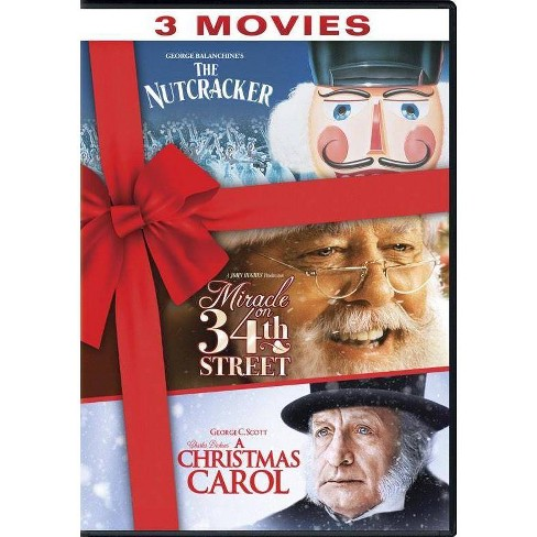 The Nutcracker / Miracle on 34th Street / A Christmas Carol (DVD) - image 1 of 1