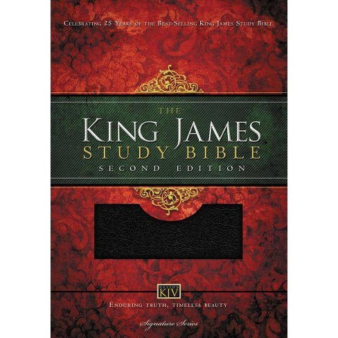 Study Bible-KJV - 2 Edition by  Thomas Nelson (Leather_bound) - image 1 of 1