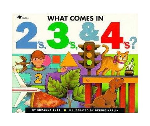 What Comes in 2'S, 3'S, & 4'S? (Reissue) (Paperback) (Suzanne Aker) - image 1 of 1