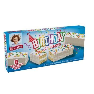Little Debbie Birthday Cakes - 12.39oz