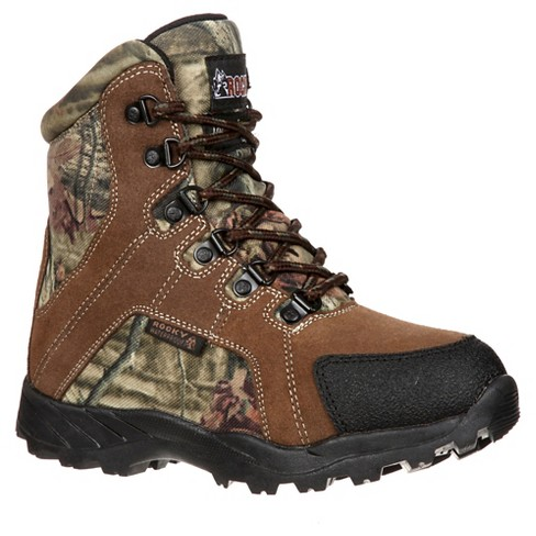 Boys' Rocky® Waterproof Camo Hiking Boots - Brown - image 1 of 7