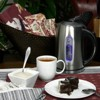 MegaChef 1.7L Electric Tea Kettle - Silver - image 4 of 4