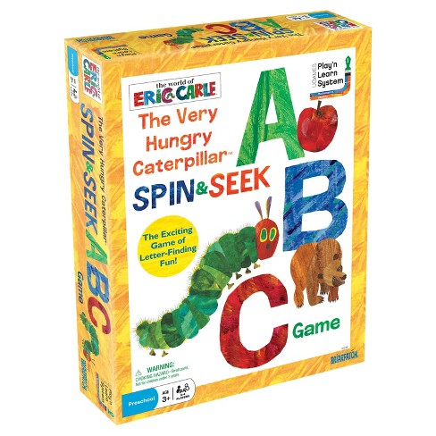 Eric Carle Briarpatch The Very Hungry Caterpillar Spin & Seek ABC Game - image 1 of 2