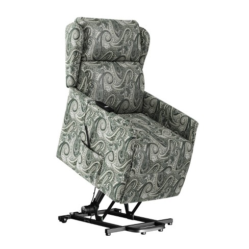 Libbi Classic Wingback Power Recline And Lift Chair Paisley Gray Prolounger Target