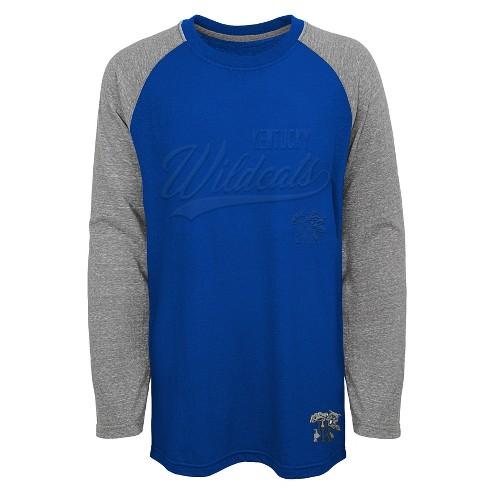 Kentucky Wildcats Boys  Long Sleeve Raglan T-Shirt   Target c7410e836e34