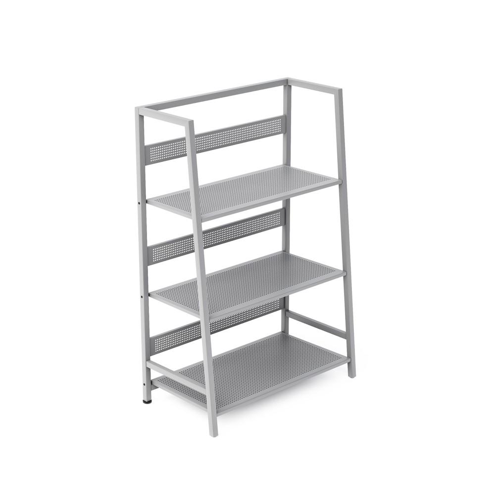 40 Dandy 3 Tier Folding Shelf Lilac Gray - Jamesdar