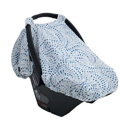 Bebe Au Lait Muslin Car Seat Cover - Serenity
