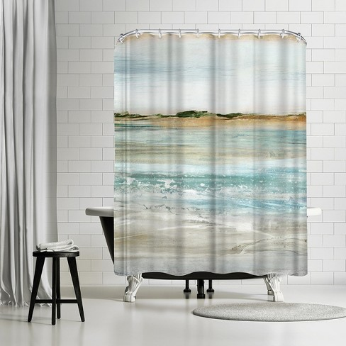 Americanflat Retrospective I By Pi Creative Art 71 X 74 Shower Curtain Target