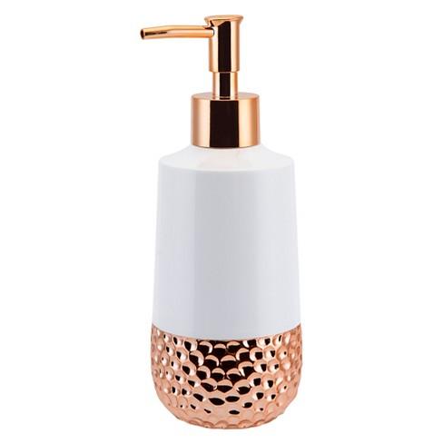 titus lotion pump rose gold allure target. Black Bedroom Furniture Sets. Home Design Ideas