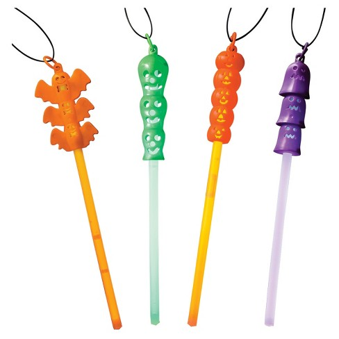 6ct Halloween Glow Necklaces - Hyde and Eek! Boutique™ - image 1 of 5