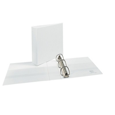 """Avery Durable 2"""" EZD 3-Ring View Binder White (09501)"""