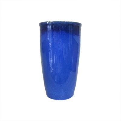 10  Reactive Glaze Stoneware Planter - Blue - Threshold™