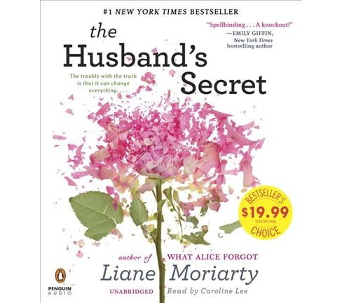 Husband's Secret (Unabridged) (CD/Spoken Word) (Liane Moriarty) - image 1 of 1