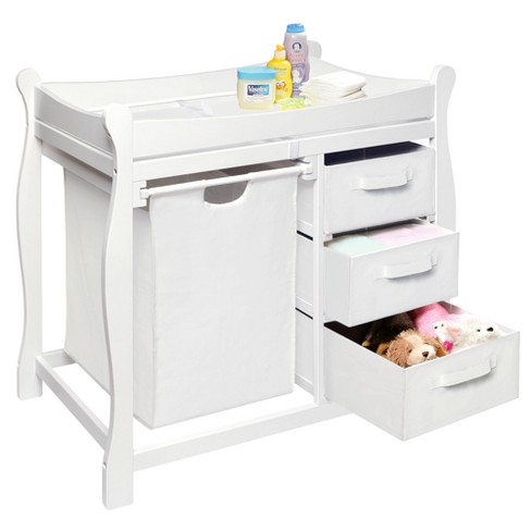 f35740d4f4a ... Changing Table with Hamper and Baskets. Shop all Badger Basket. This  item has 4 photos submitted from guests just like you!
