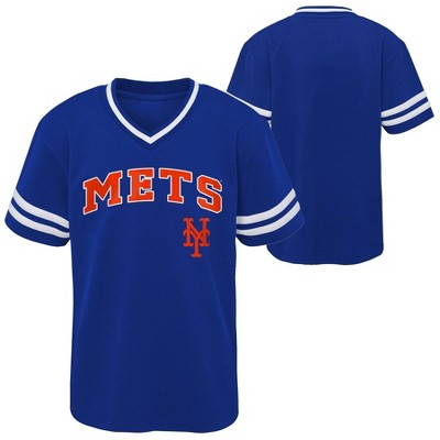 MLB New York Mets Toddler Boys' Pullover Jersey