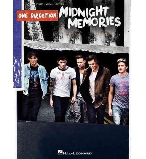 One Direction Midnight Memories : Piano - Vocal - Guitar (Paperback) - image 1 of 1