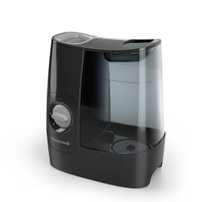 Honeywell HWM845 Warm Mist Humidifier with Essential Oil Cup Filter Free Black