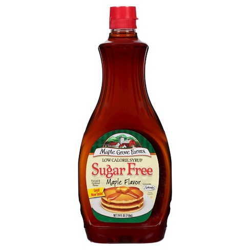 Maple Grove Farms Low Calorie Sugar Free Maple Syrup - 24 fl oz - image 1 of 1