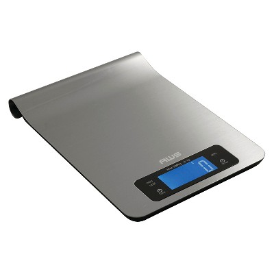 AWS Stainless Steel Digital Kitchen Scale