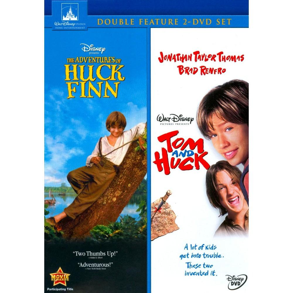 Adventures Of Huck Finn Tom And Huck Dvd