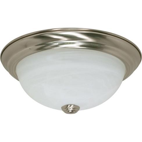 Nuvo Lighting 60 2621 2 Light 11 3 8 Wide Flush Mount Bowl Ceiling Fixture