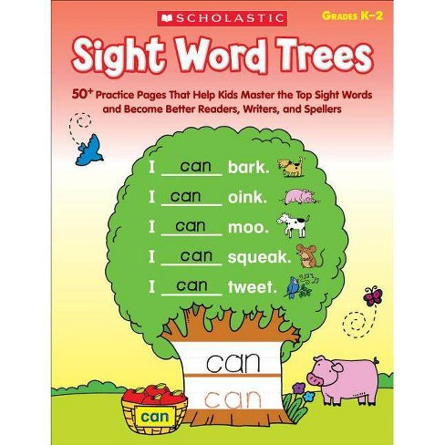 Sight Word Trees, Grades K-2 - by  Immacula Rhodes (Paperback) - image 1 of 1
