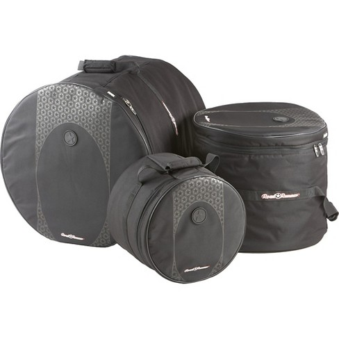 Road Runner Touring 3-Piece Drum Gig Bag Set Black 10x12, 16x16 & 18x22 - image 1 of 2
