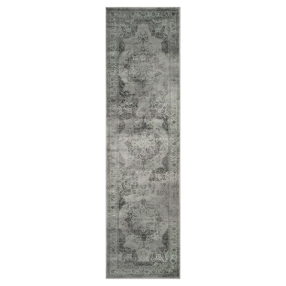 Luca Vintage Runner - Gray / Multi ( 2' 2 X 10' ) - Safavieh