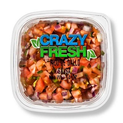 Crazy Fresh Pico De Gallo Salsa - 14oz